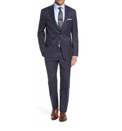 Hart Schaffner Marx - Classic Fit Plaid Wool Suit