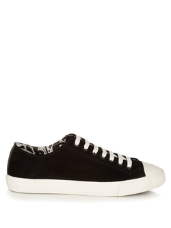 Paul Smith  - Indie Suede Low Top Trainers