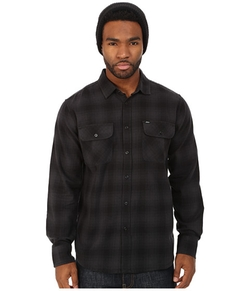 Obey  - Huddle Long Sleeve Woven Shirt