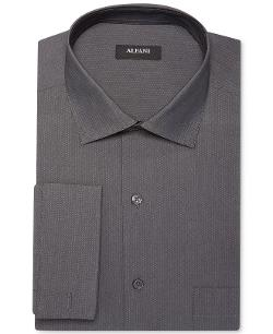 Alfani  - Stripe French Cuff Shirt