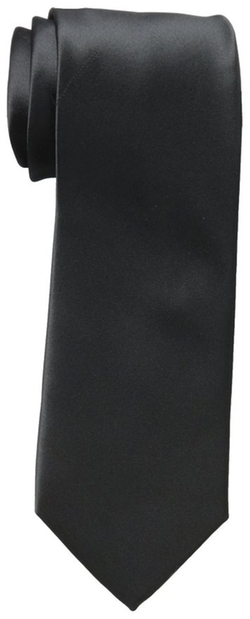Haggar  - Washable Satin-Finish Solid Tie