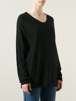 T by Alexander Wang - Round Neck Sweater