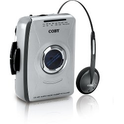 Coby  - Personal AM/FM Stereo Cassette Player