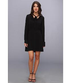 BCBGMAXAZRIA  - Lani Long Sleeve Blouse Dress