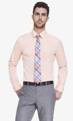 Express - Iridescent Fitted Shirt