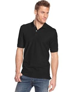 Club Room  - Short Sleeve Solid Estate Performance Polo Shirt