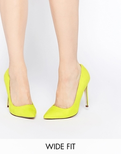 Asos  - Playful Wide Fit Pointed Heels Pumps