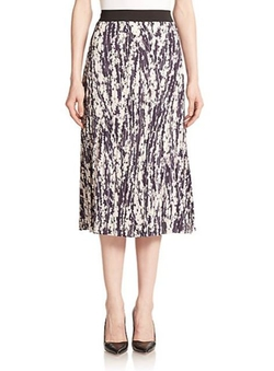 Elizabeth and James  - Braylon Pleated Floral Skirt