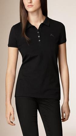 Burberry - Cotton Pique Polo Shirt
