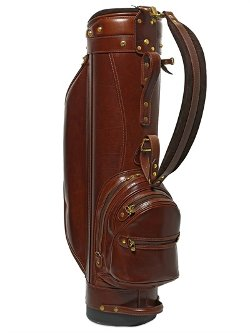 The Bridge - Hand-Painted Leather Golf Bag