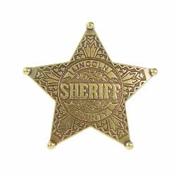 Denix - Lincoln County 5-Ball Point Sheriff