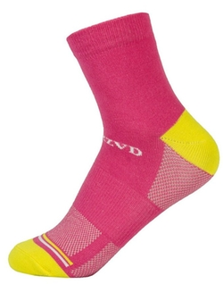 Oncefirst  - Cotton Low Colorblock Crew Socks