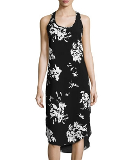 Hilda B. - Printed Racerback Tank Dress