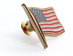 Northwest Territorial Mint - U.S. Flag Lapel Pin