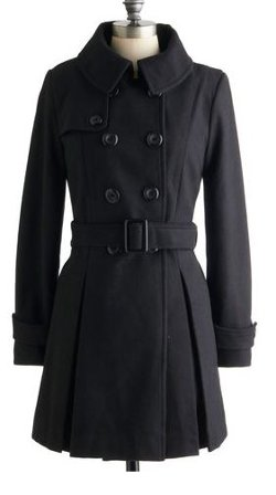 Mod Cloth - Inkwell Done Coat