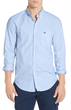 Lacoste  - Regular Fit Oxford Woven Shirt
