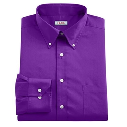 IZOD - Button-Down Collar Dress Shirt