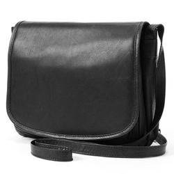 R&R  - Leather Flap Leather Crossbody Bag