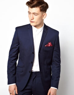 Vito - Three Button Suit Jacket