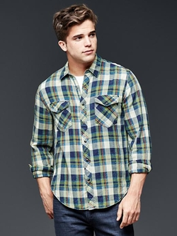 Gap - 1969 Western Plaid Shirt