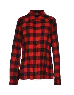 Dondup - Flannel Button Front Shirt