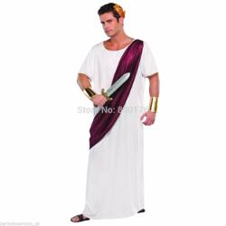 AliExpress - Roman Adult Noble Greek White Toga Costume