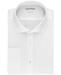 Calvin Klein - Extra Slim-Fit Tuxedo Shirt