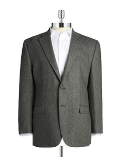 Lauren Ralph Lauren - Herringbone Wool And Cashmere Blazer