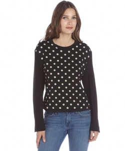 Phillip Lim - Polka Dot Printed Cotton Sweatshirt