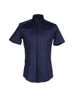 Frankie Morello - Short Sleeve Button Shirt