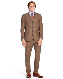 Ralph Lauren - Polo 3-Piece Tick Weave Suit