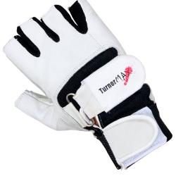 TurnerMAX  - Pro Double Velcro Full Leather Gloves