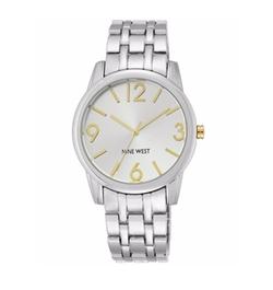 Nine West - Stainless Steel Bracelet Watch