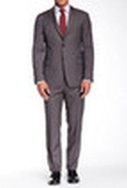 Todd Snyder - Sharkskin Two Button Notch Lapel Wool Suit