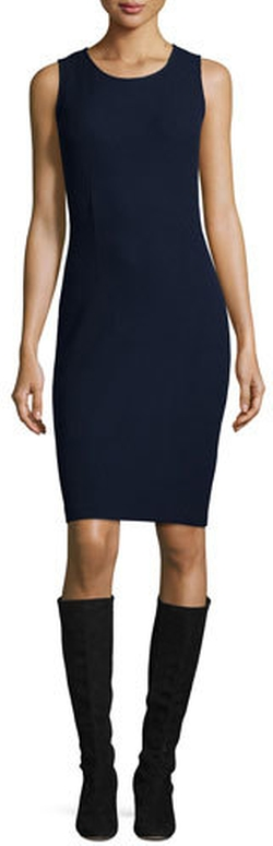St. John Collection  - Milano Knit Sheath Dress