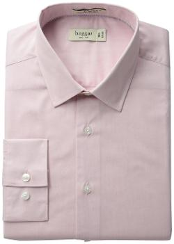 Haggar  - Fitted Mechanical Stretch Solid Dress Shirt