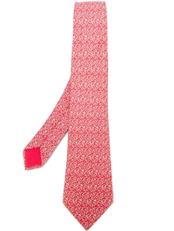 Hermès Vintage   - Arabesque Print Tie
