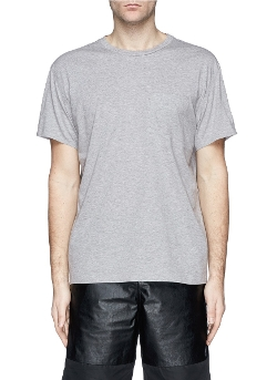 T By Alexander Wang - Patch Pocket Cotton Jersey T-Shirt