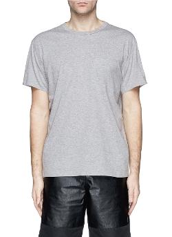 T By Alexander Wang - Patch Pocket Cotton Jersey T-Shirt
