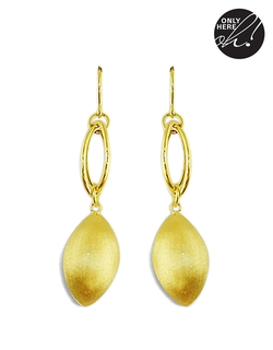 Lord & Taylor - Satin Finish Drop Earrings