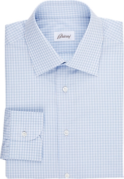 Brioni  - Check Dress Shirt
