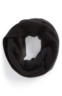 Vince  - Dip Dyed Wool Blend Infinity Scarf