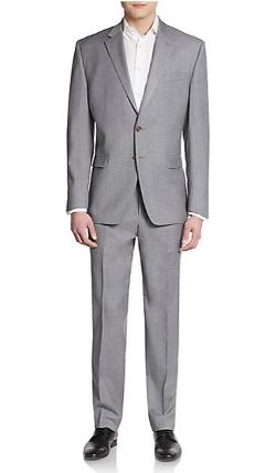 Lauren Ralph Lauren  - Regular-Fit Wool Suit