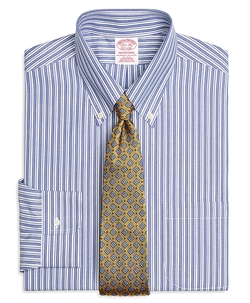 Brooks Brothers - Bold Split Stripe Dress Shirt