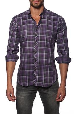 Jared Lang - Trim Fit Long SleeveSport Shirt