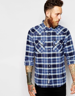 Lee  - Rider Western Twill Check Shirt
