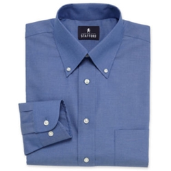 Stafford - Pinpoint Oxford Dress Shirt