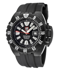 Luminox - Automatic Black Dial Rubber Watch