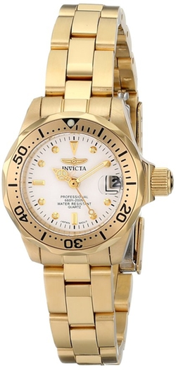 Invicta - Pro Diver Collection Gold-Tone Watch