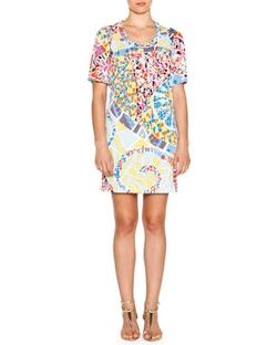 Emilio Pucci - Mosaic-Print Sheath Dress